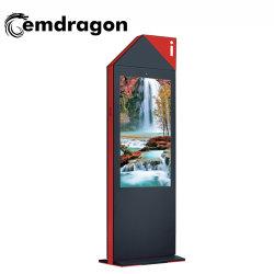 55 pouces écran vertical Air-Cooled-de-chaussée de la publicité extérieure ultra-léger de la machine de l'écran LCD LED de signalisation numérique Ad Android Digital Signage publicité 4K