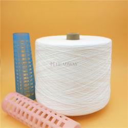 Fabrikant 100% Polyester Gesponnen Garen 20/2 Ruw Wit 20s/2 20s/4 voor het Naaien van Kledingstukken