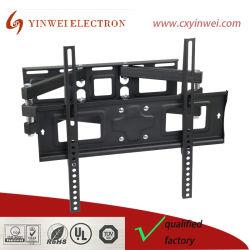 Двойной рычаг поворотный кронштейн для телевизора для установки на телевизоре в полном объеме тип движения