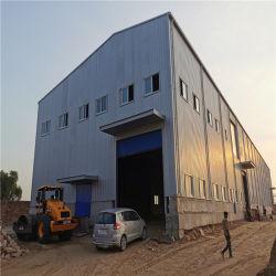 La moderna construcción de la luz de prefabricados de estructura de bastidor de acero de construcción material de almacén