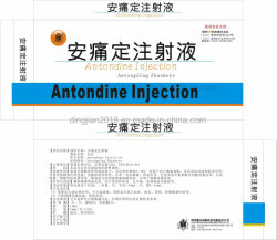 As instruções de injecção Antondine