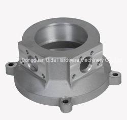 Óxido negro de aluminio 6061 moto de mecanizado CNC la tapa del tanque de gas
