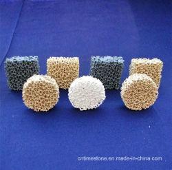 ジルコニアの鉄の鋳造および鋳物場のための陶磁器の泡フィルター
