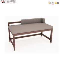 Couro PU modernas cores opcionais Custom Hotel Escura Sala Bed bancada