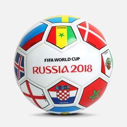De Bal van de Voetbal van de Vlag van het Land van de Kop van de wereld voor Bevordering