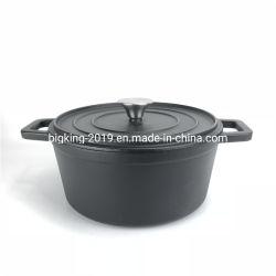 2019 Nouvelle conception 24cm de diamètre casserole en fonte