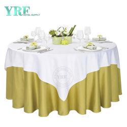 광저우 포산 폴리에스테르 둥근 테이블 천의 웨딩용 테이블 린넨