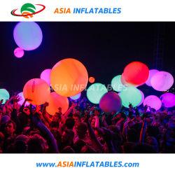 Pelota de playa hinchables globos lanzando bolas de aire