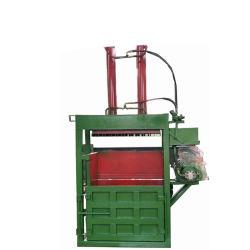 Double Chambre à la verticale de l'habillement presse pour le recyclage des textiles de la machinerie de vêtements
