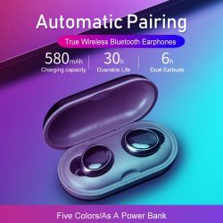 Оптовая торговля на заводе новой конструкции тура Wireless Bluetooth 5.0 стереонаушники с зарядным устройством (может работать как банк)