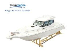 10,7m barco de pesca barco de fibra de vidrio/potencia/velocidad/barco yate barco//barco de motor