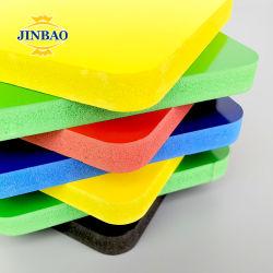Jinbao A2 Sze 2.5mm 5mm 두께 디스플레이 WPC Board PVC Foam 공급자 가격