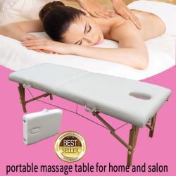 Table de massage portable Massage bois canapés lit de massage