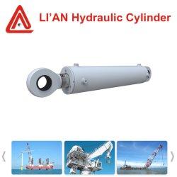 Cilinder van de Duiker van Nostandard de Telescopische Hydraulische met de Gesmede Zuigerstang van het Staal