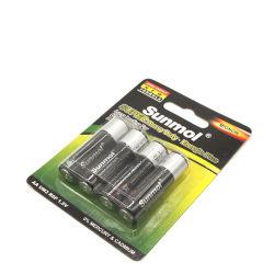 기본 배터리 Zink Carbon Zinc 1.5V 크기 Um3 R6 AA 배터리