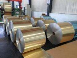 Aluminium Fin Stock voor airconditioning/gewone folie/hydrofiele folie