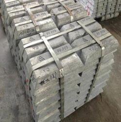 Lingot de zinc pur 99,5/alliage de zinc