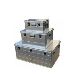 Caja de aluminio Caja de almacenamiento de disco duro del equipo organizador (HW-5002)