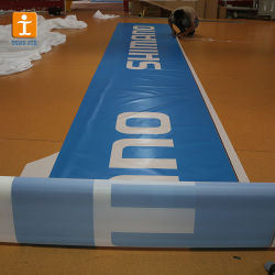 110gsm tissu vent battant Scrim Bannière de maillage