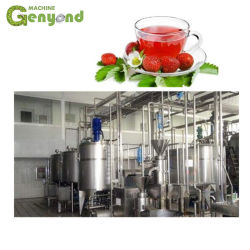 Starker Erdbeere-Saft-Produktionszweig Gerät
