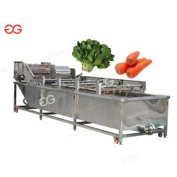 Gelgoogの自動フルーツのモモのワックスを掛けるオリーブ色の洗濯機の乾燥ライン唐辛子の野菜の洗濯機をソートする