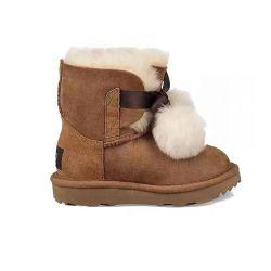 2019 Quente de Inverno engrossar odres de crianças botas de neve Sapatas do bebé