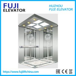 FUJI Panorámica de la casa de pasajeros elevador residencial de Observación de la carga de fábrica en China