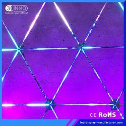 3DESIGN Unique cinno Slim Pixel LED Barre vidéo Bande de pixels à structure libre pour l'étape/Concert (DMX disponible)