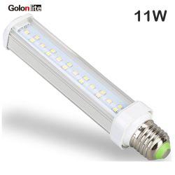 indicatore luminoso di G24 11W 4-Pin LED Pl del rimontaggio del PLC della lampada di 18W Pl