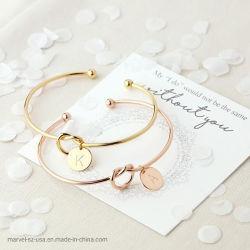 Les femmes Chaîne serpent charme Costume Lettre de la personnalité Bracelet bijoux de mode