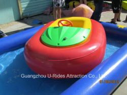 Piscina inflable barco Game-Kiddy paragolpes
