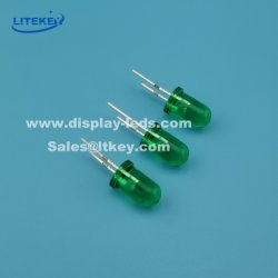 Verde 5mm High-Brightness LED redondos com RoHS China Fabricante