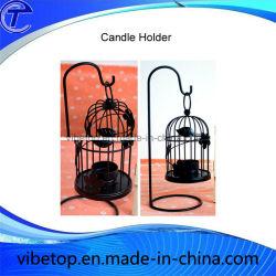 도매 최신 Creative Iron Bird Cage Candle Holder