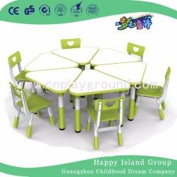 Детей мебель детский пластиковый стол стул для детей дошкольного возраста (HF-05002)
