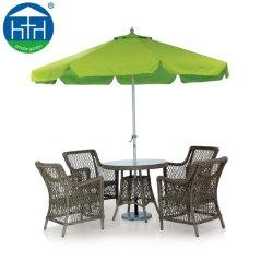 Table ovale du rotin Salon de Jardin meubles de patio Meubles de salle à manger en plein air de canne en rotin