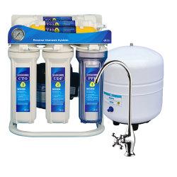 Het Gebruik van het huis onder het Systeem van de Filter van het Water van de Omgekeerde Osmose van de Gootsteen