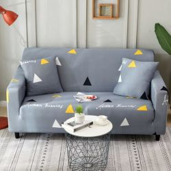 1 2 3 4 canapés couvre un canapé-housses spandex polyester Tissu élastique protecteur doté de forme douce Mettre en place capots table