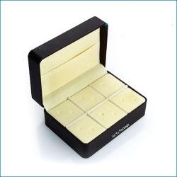Luxury Plástico Multifunções alfinetes clipe para gravata jóias Caixa de Exibição de embalagem