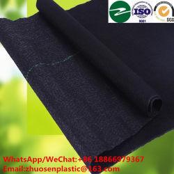 La aguja de plástico de polipropileno tejido perforado el control de malezas Mat para la Agricultura