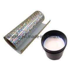 Film Laser Base d'eau pour l'aluminium enduit de colle de lamination BOPP Film au papier