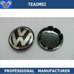Custom 65mm ABS VW Passat rueda el logotipo de la tapa central Tapacubos
