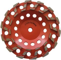 S сегмента Turbo агрессивного алмазного шлифовального круга конкретных наружное кольцо подшипника колеса на бетонный пол