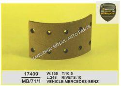 Высочайшее качество тормозных колодок для тяжелых условий работы погрузчика (17409)