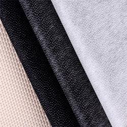 衣服のアクセサリの熱結ばれた非編まれた可融性の行間に書き込む100%年のポリエステル