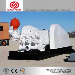 Bw série trois cylindres horizontaux de la boue de la pompe à piston simple effet