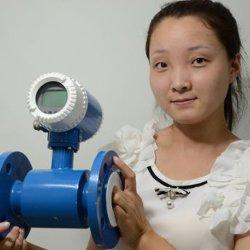 Цифровой электромагнитного датчика массового расхода воздуха жидкую воду магнитного датчика расходомера