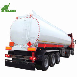 30000 リットル ~ 60000 リットルガソリンタンクトラックトレーラ / フューエルタンクセミトレーラ / アンゴラ市場での販売用原油