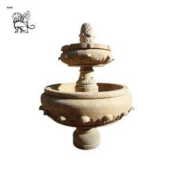 Vendita all'ingrosso intagliato a mano interno pietra marmo pietra Antique Fontana ASM-11