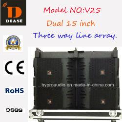 Réseau de lignes de puissance V25, équipement d'extérieur, audio PRO, système de line array
