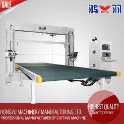 CNC lame verticale horizontale de la mousse& oscillant et l'Éponge Machine de coupe